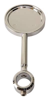 Medalion chrom na wysokiej nóżce